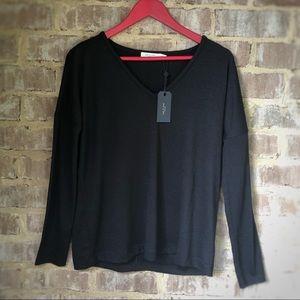 rag & bone black sweater sz M NWT